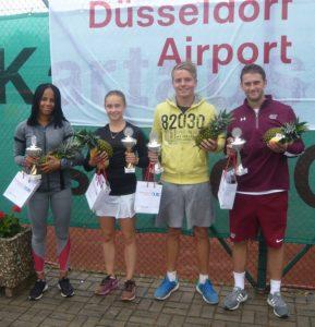 Airport Cup 2017 Uzumah Ume, Sophia Gneuß, Jan Niklas Kühling, Felix Decker