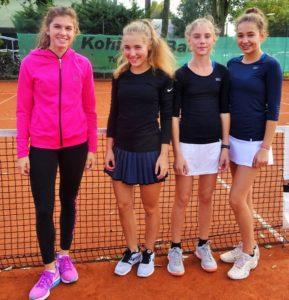 BZM 2017 Juniorinnen U14 Noemi Sante Merle Freiberg Victoria Vieten Anna Katharina Winck