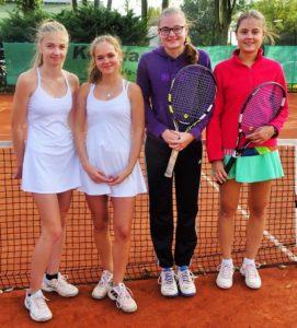 BZM 2017 Juniorinnen U16_18 Wiebka Luther Victoria Ringpfeil Denise Bräuer Michelle Bräuer